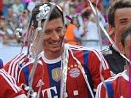 Pep Guardiola's Bayern Munich beat Wolfsburg 3-0 to lift Telekom Cup as Robert Lewandowski scores a brace